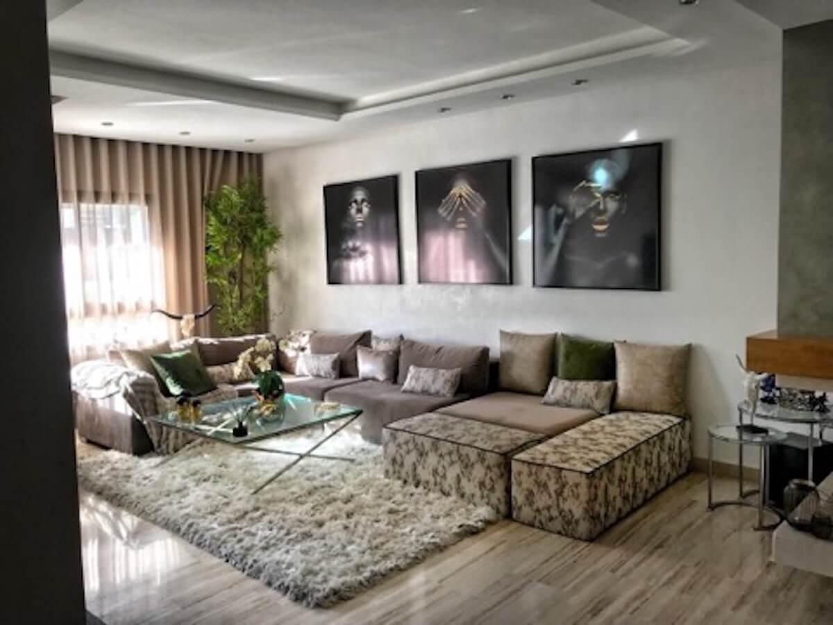 Espace Salon de l'appartement à vendre Gauthier