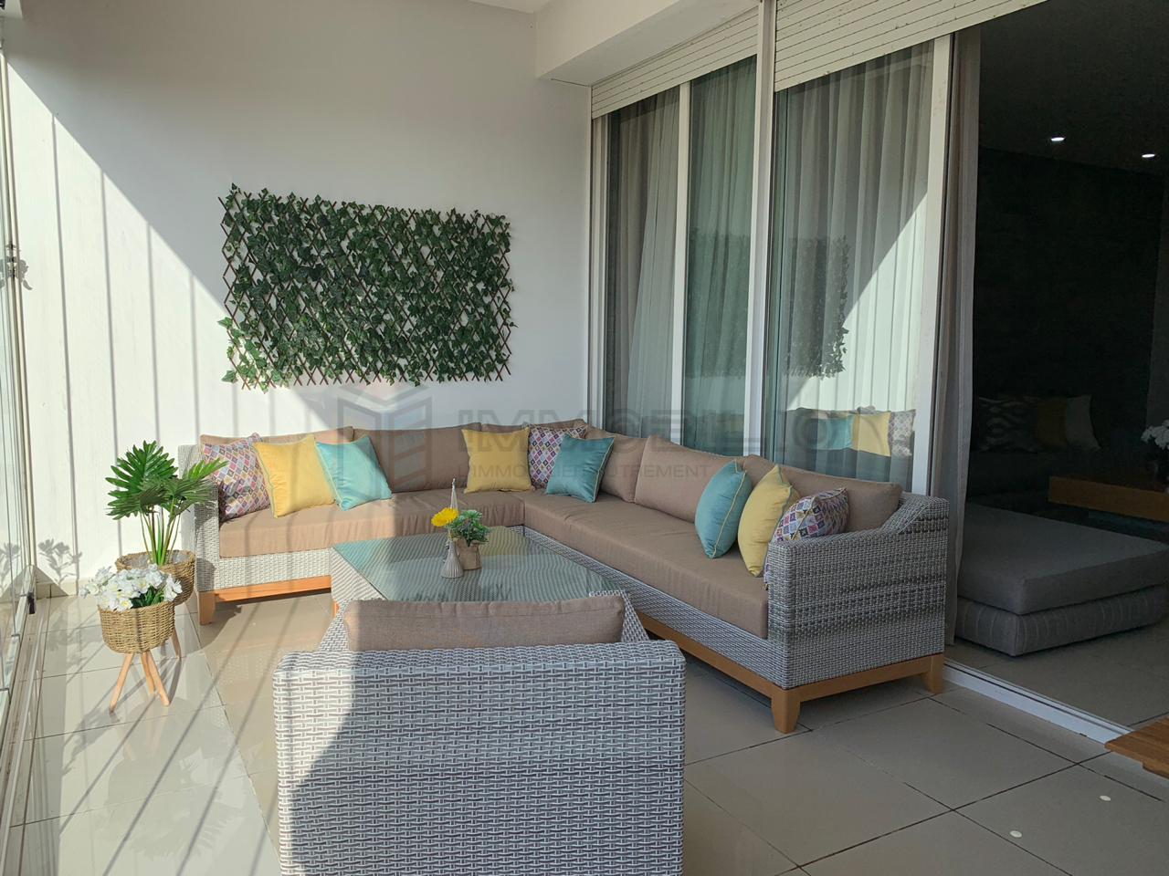 Terrasse de l'appartement à louer