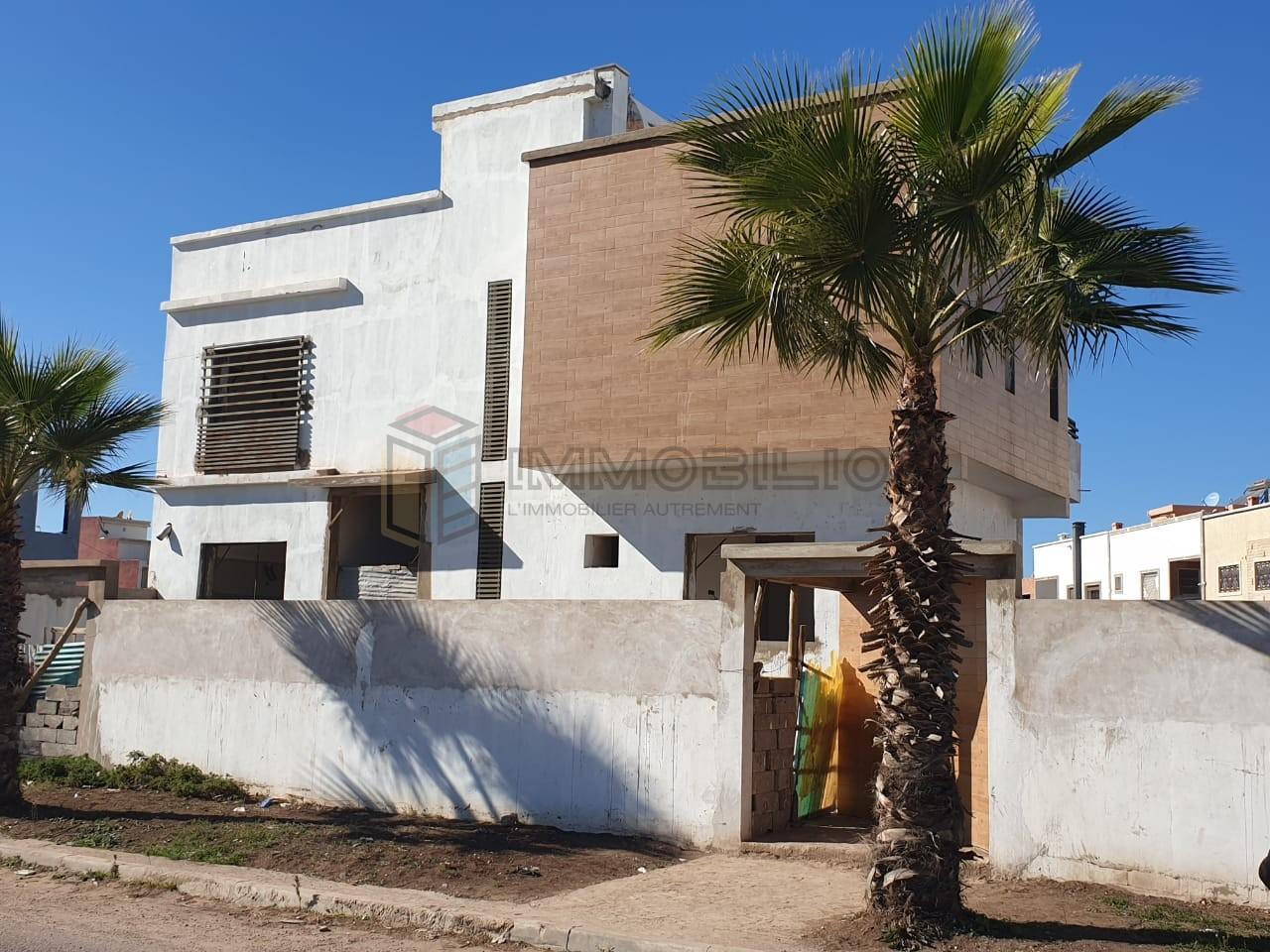 A vendre villa semie fini Berrechid